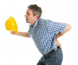 man with back pain small